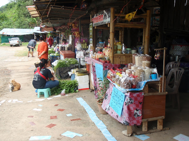 Jungle Market in Thailand