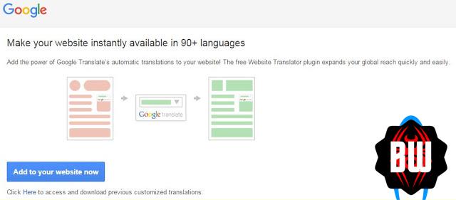 Cara Pasang Google Translate untuk Blog