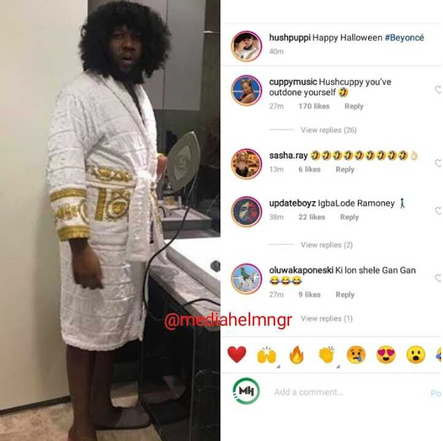 Hushpuppi Shares his own Halloween costume, Fans react