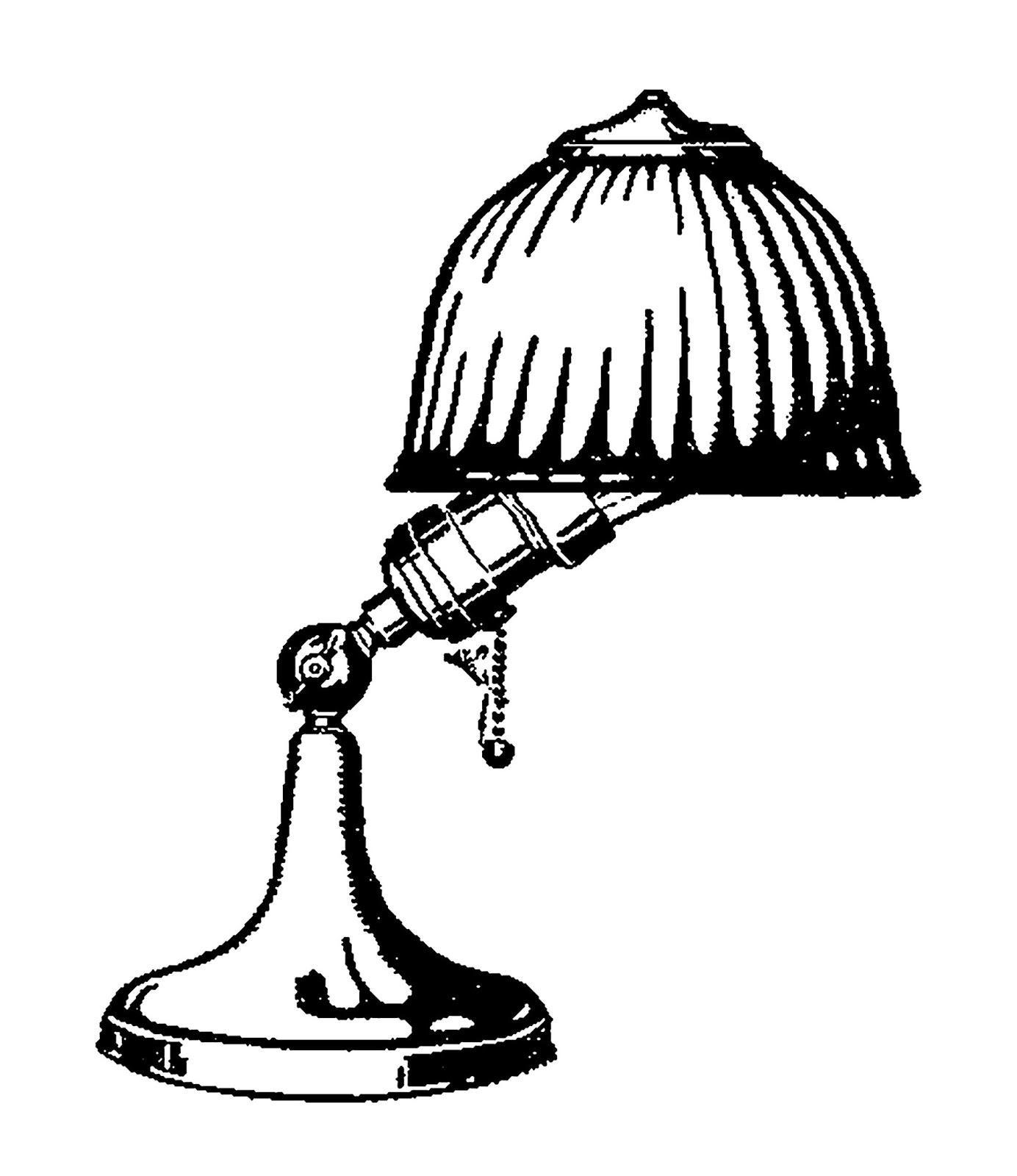 digital stamp design digital desk lamp downloads vintage