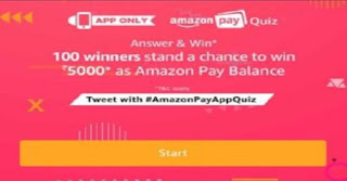 Amazon Today Quiz all Answers Tricksstore