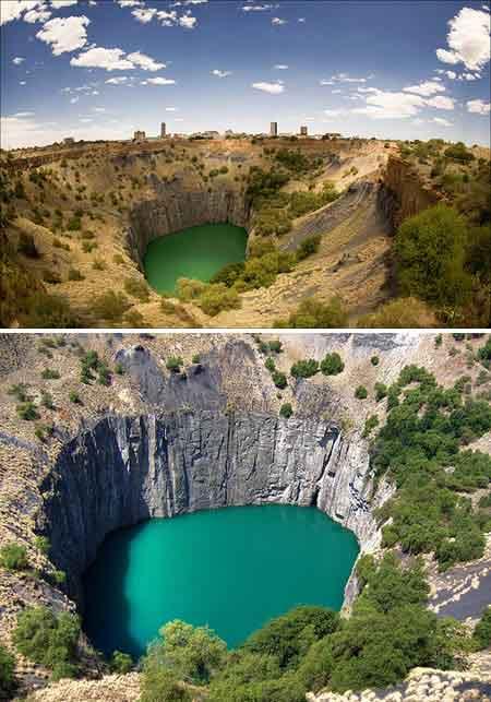baik lubang kecil maupun lubang raksasa tanggapan insiden alam atau buatan insan 10 LUBANG PALING MENAKJUBKAN DI BUMI