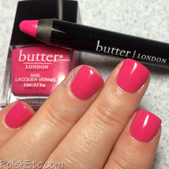 Butter London - Bloody Brilliant Lip Crayon and Polish - McPolish - Primrose Hill Picnic