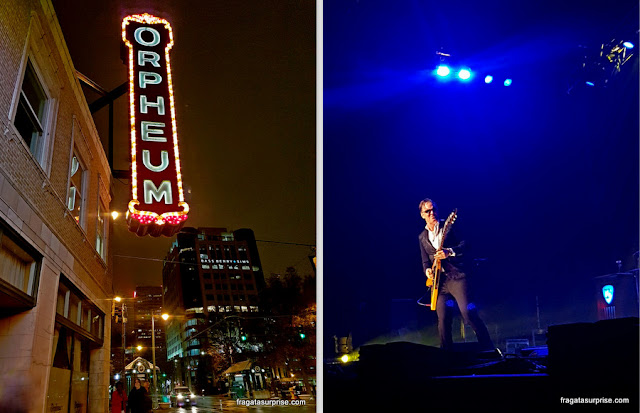 Show do guitarrista Joe Bonamassa no Orpheum Theater de Memphis
