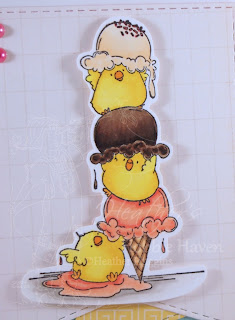 Heather's Hobbie Haven - Chicks with a Sprinkle on Top Card Kit