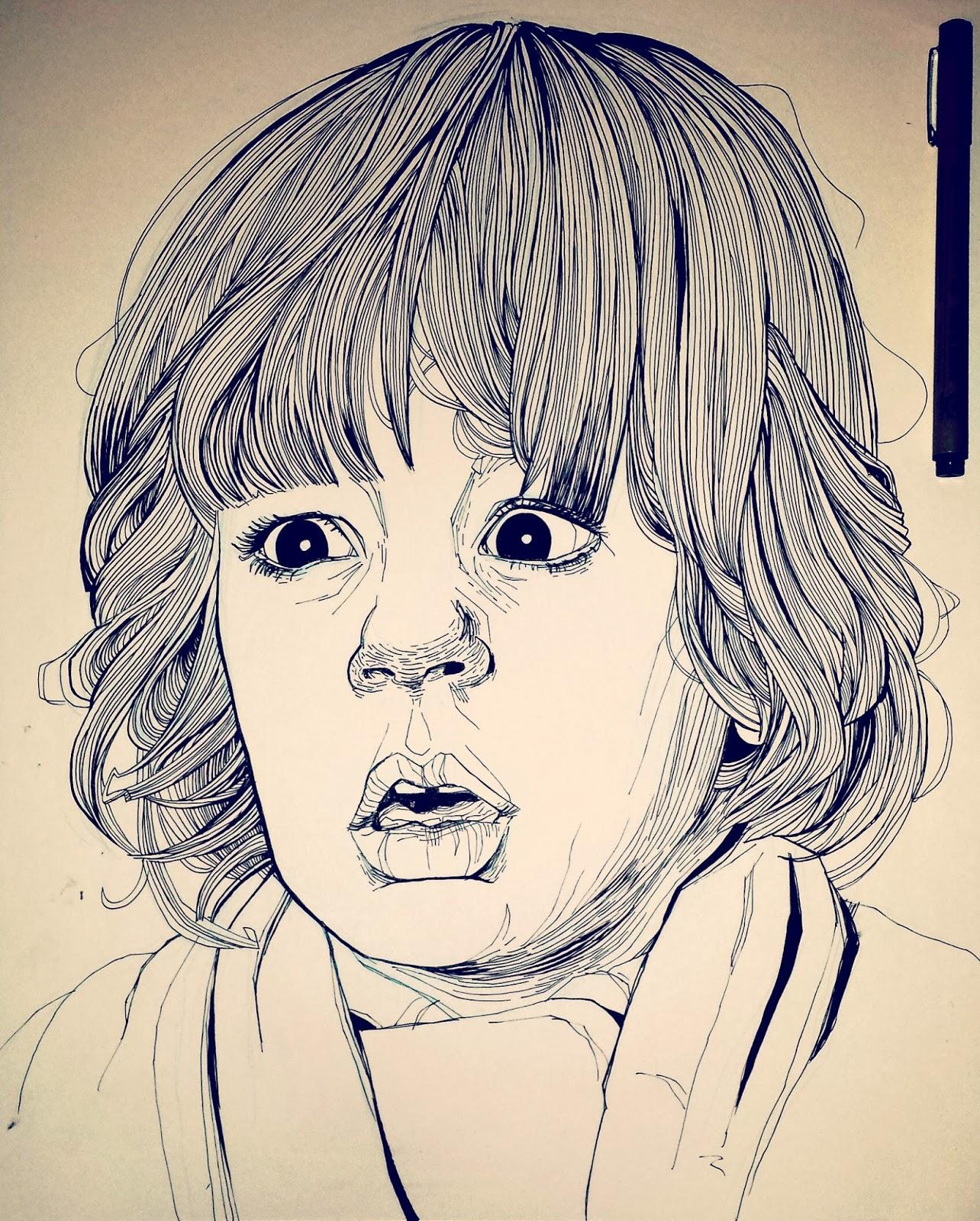 The Shining Danny Illustration