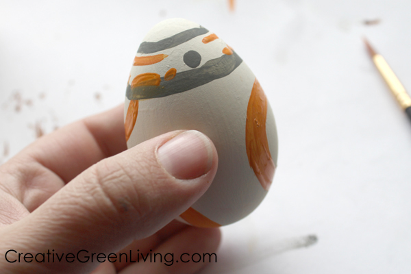 bb8 star wars easter egg craft