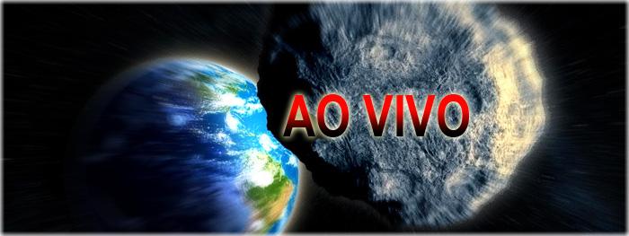 asteroide próximo da Terra ao vivo