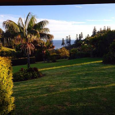 Early Sunrise on Norfolk Island