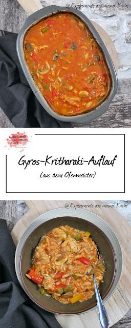 Gyros-Kritharaki-Auflauf | Rezept | Kochen | Auflauf | Weight Watchers | Pampered Chef