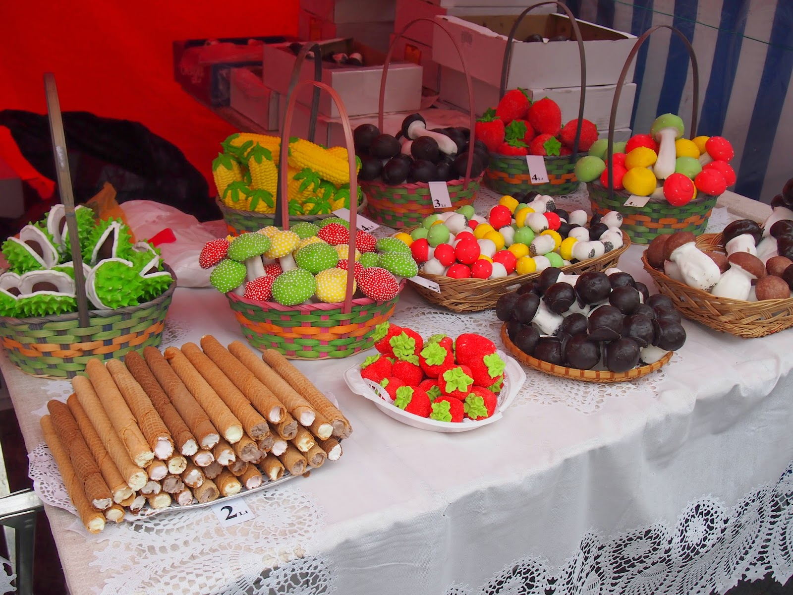 Lithuanian baked treats