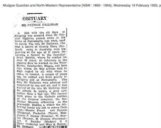 AS THEY WERE: IRISH OBITUARIES