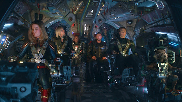 Brie Larson Scarlett Johansson Don Cheadle Chris Hemsworth Chris Evans Anthony and Joe Russo | Iron Man | Marvel's Avengers: Endgame