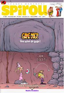 Chaque Mercredi, Spirou, numéro 3841, 2011