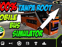 Mobile Bus Simulator Mod Apk v1.0.2 Unlimited Money Tanpa Root