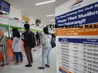Ajib !!! Sebanyak Tujuh Belas Ribu Tiket Kereta Tambahan Ludes Terjual