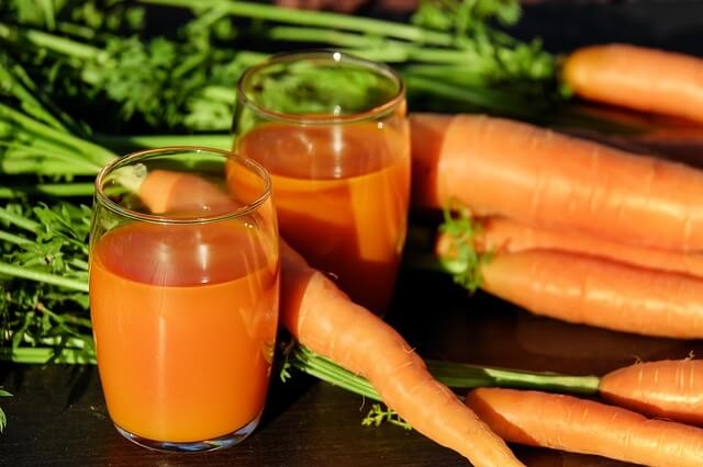 Carrot juice for ringworms