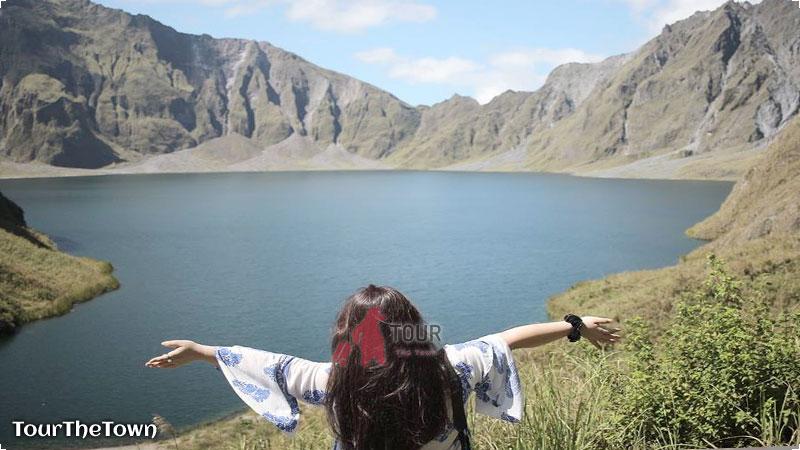 Mt Pinatubo crater lake Traveling Filipina