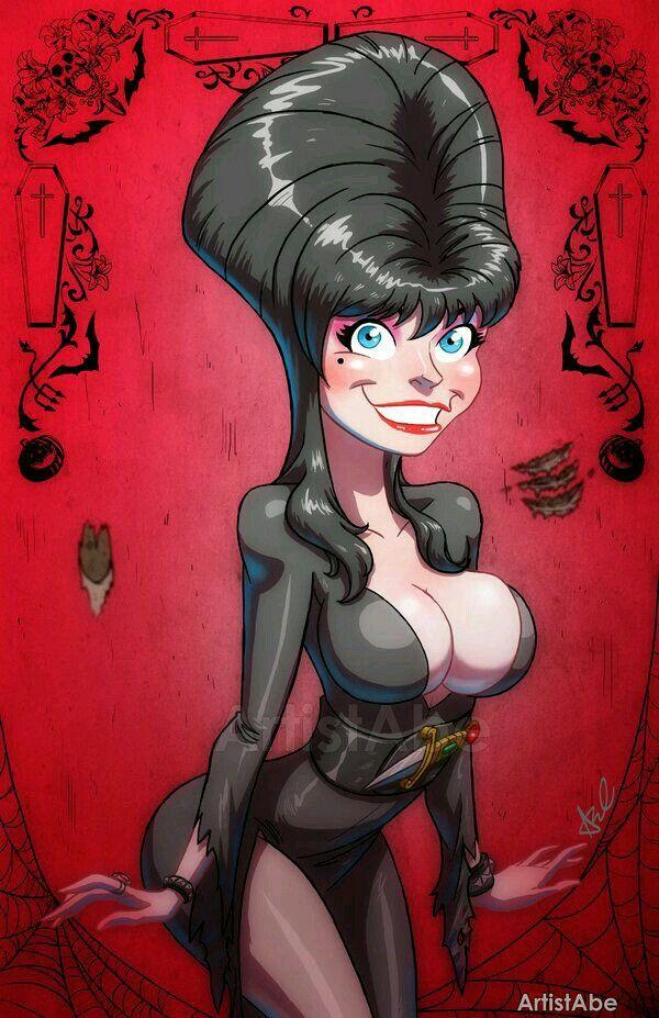 Fascinating Fanart Elvira