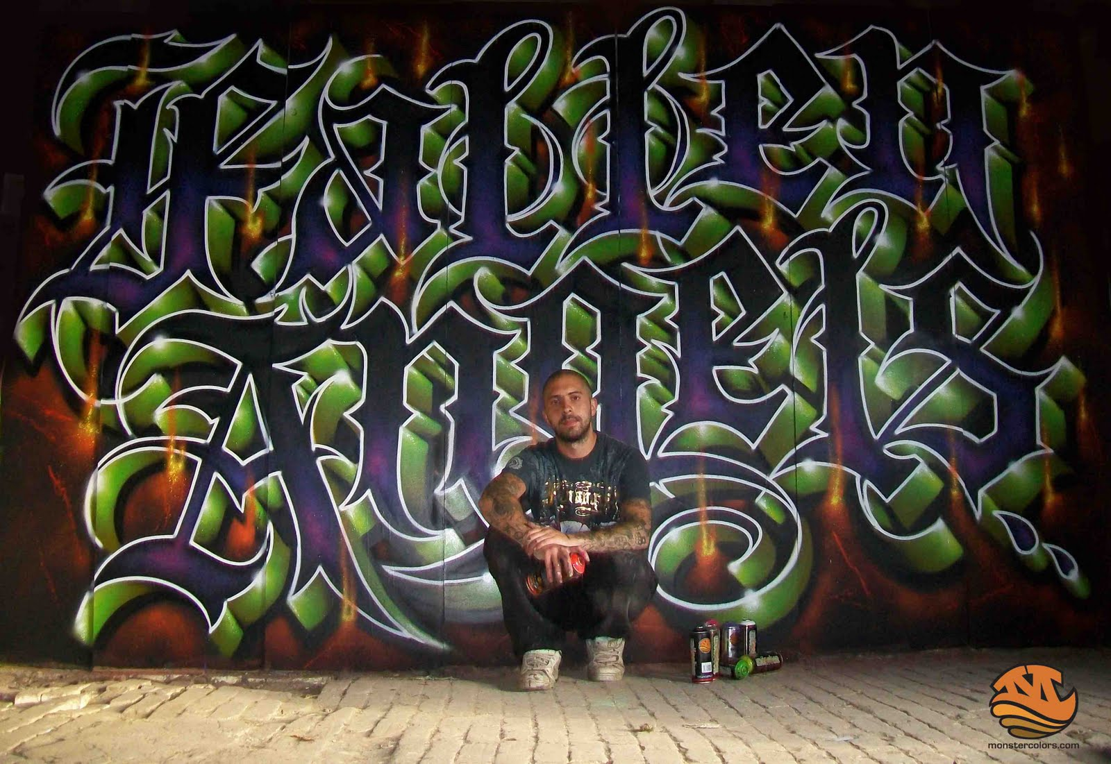 Spray Paint Mask >> Monster Colors,graffiti Blog,spray paint,cans street art ...