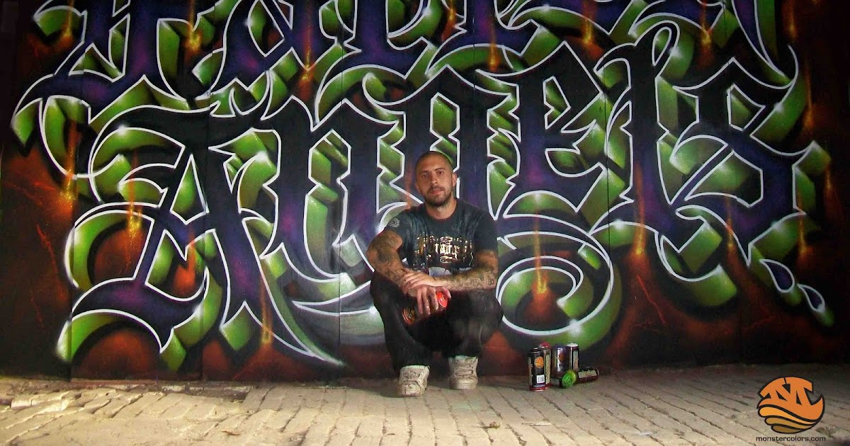 Spray Paint Mask >> Monster Colors,graffiti Blog,spray paint,cans street art,tags,taggging,pen,graff blog: Classic ...
