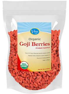 via labs organic goji berries pack
