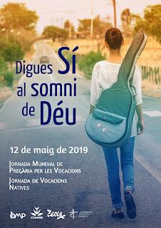 VOCACIONS NATIVES, JORNADA PREGÀRIA VOCACIONS 2019