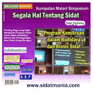 Program Kemitraan Dalam Budidaya & Bisnis Sidat (DVD) (Kode: PK)