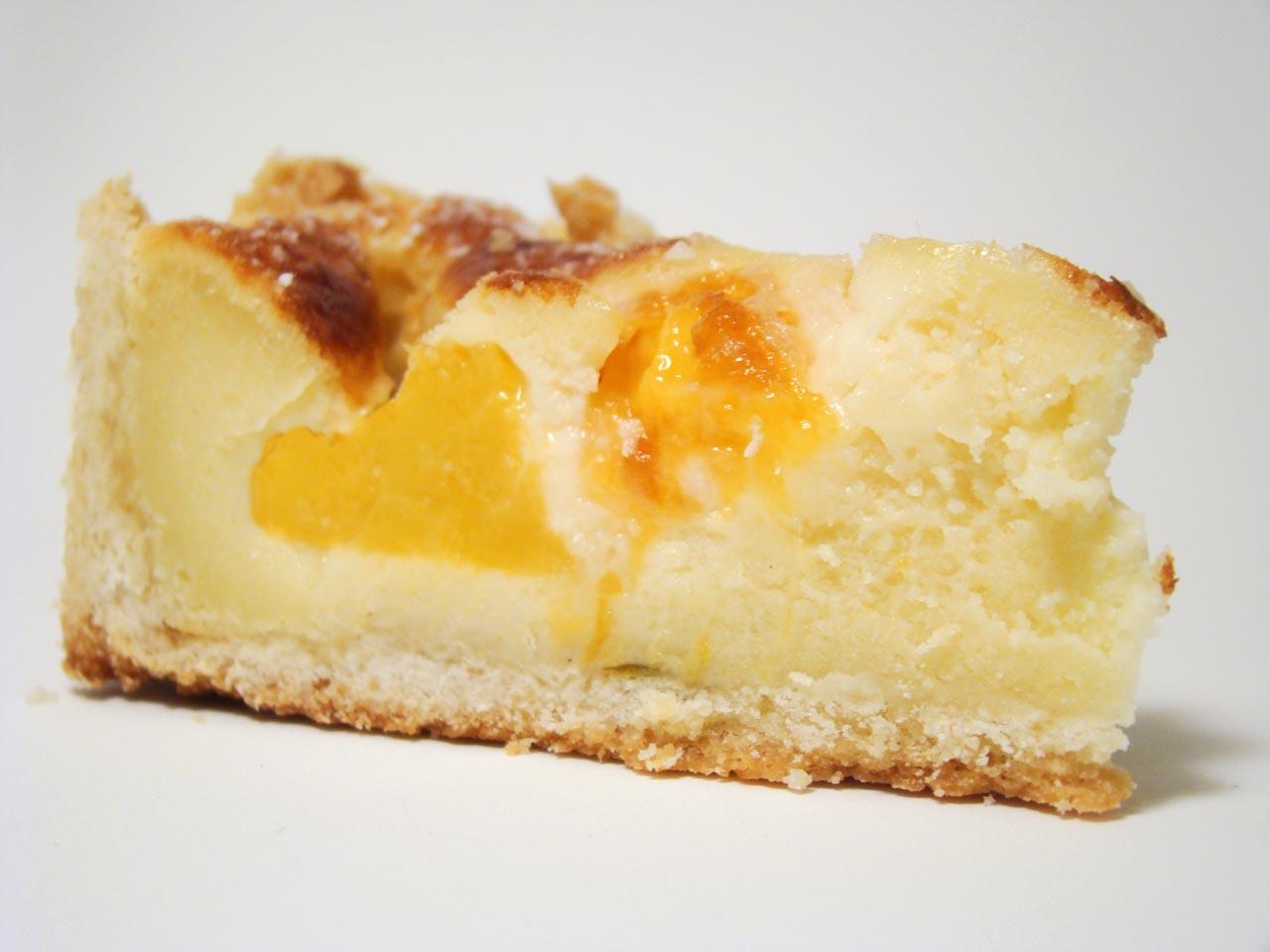 Cheesecake con Duraznos