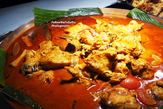 Kari Kepala Ikan (Fish Head Curry With Lady Finger & Eggplant)