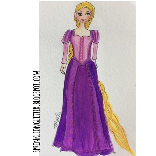 Sprinkle On Glitter Blog// Disney Princess//Rapunzel