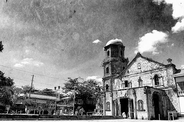 church in Balayan, Batangas.  Image source:  Municipality of Balayan web site.