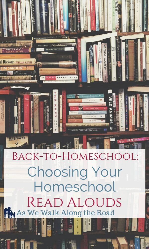 Resources to help you in choosing your homeschool read alouds