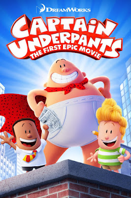 Captain Underpants The First Epic Movie 2017 DVD R1 NTSC Latino