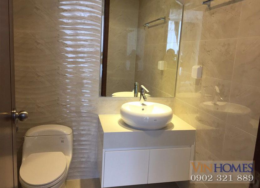 WC 1 - căn hộ vinhomes central park