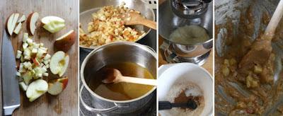 Zubereitung Bratapfel-Cookies
