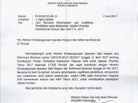 Seleksi CPNS Kementerian Hukum dan HAM 2017