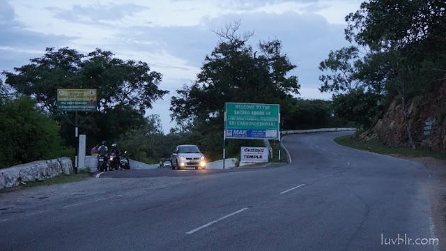 Helipad Road  Chamundi Hills