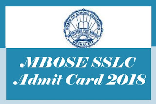 MBOSE Hall tickets 2018, MBOSE Matric Hall ticket 2018, MBOSE Class 10th Hall ticket 2018, MBOSE Class 10th Hall tickets 2018