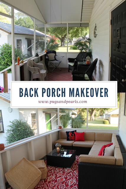 Home Tour: The Back Porch