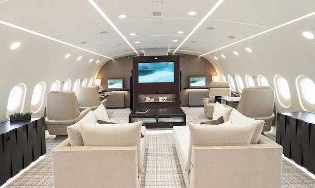 Αυτο είναι το πιο πολυτελές ιδιωτικό αεροπλάνο που υπάρχει – σε 17 ώρες σε οποιοδήποτε μέρος του πλανήτη! (Φωτο)
