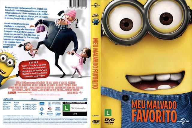 Capa DVD Meu Malvado Favorito