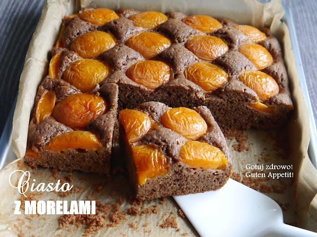 Ciasto z czekoladą i morelami  - Czytaj więcej »