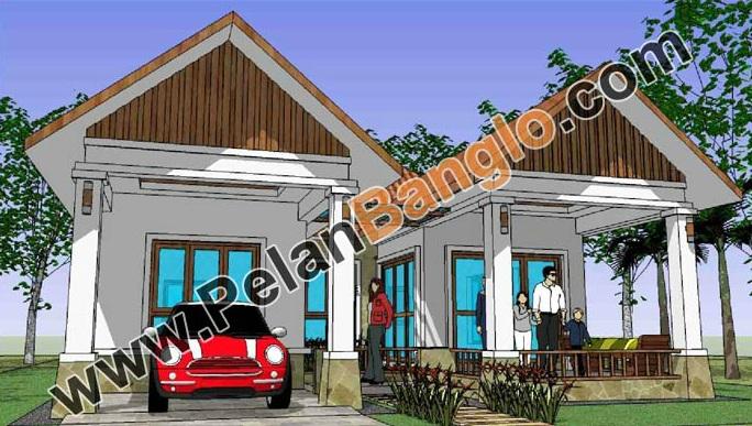 Pelan Rumah Banglo Setingkat Untuk Lot Kecil