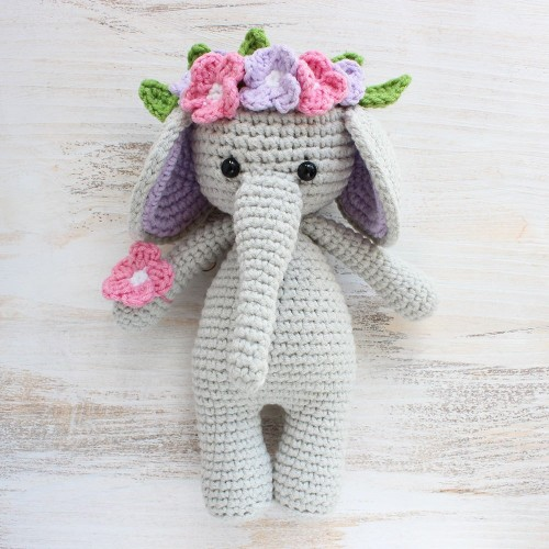 Cuddle Me Elephant - Free Crochet Pattern
