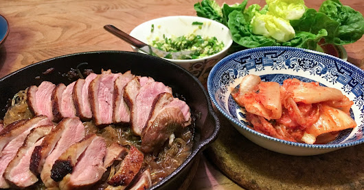 Weeknight-Friendly Duck Ssam