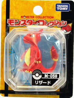 Charmeleon figure Takara Tomy Monster Collection M series