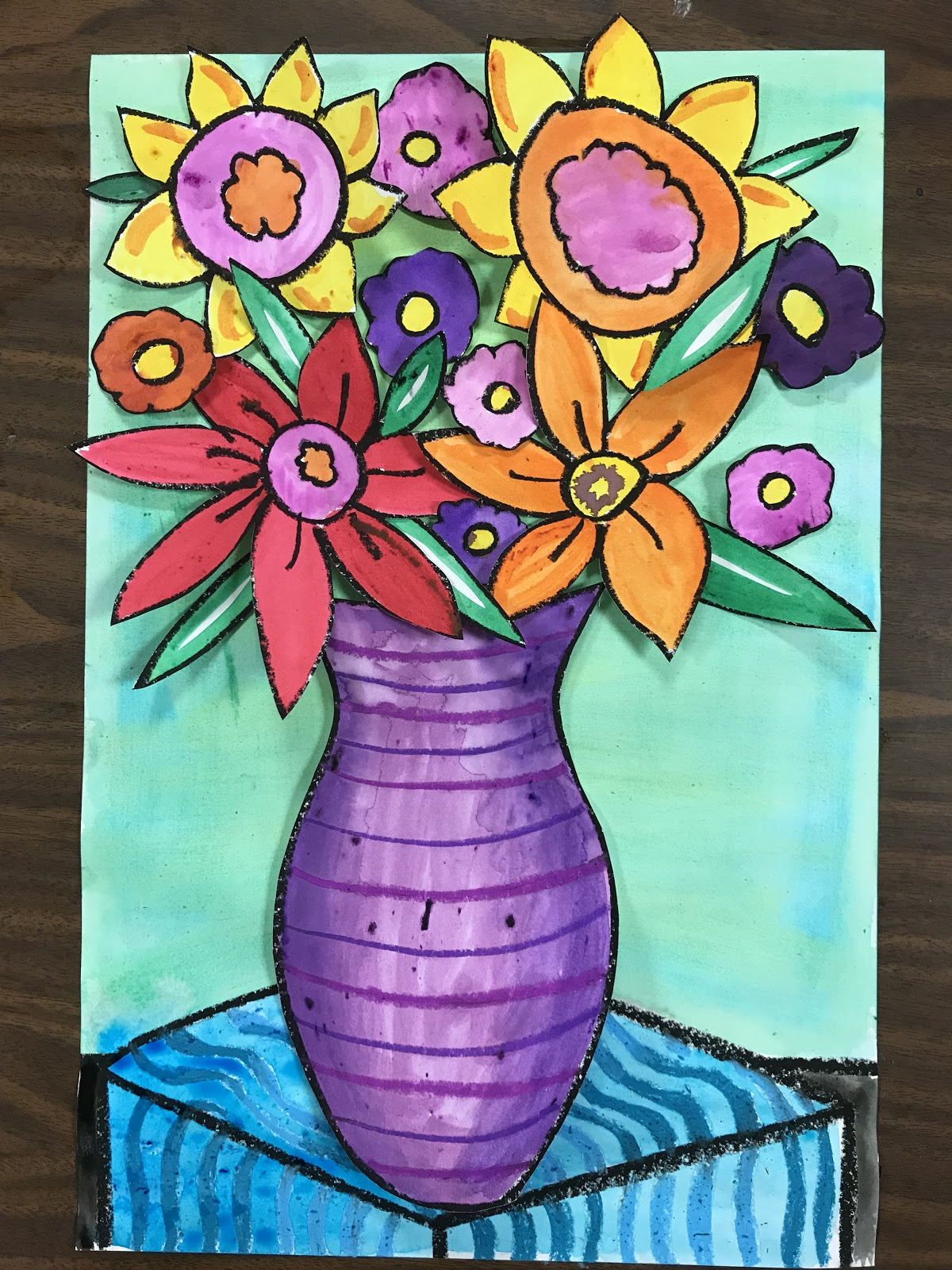 Elements Of The Art Room 3rd Grade Spring Flowers