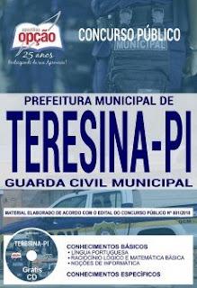 Download Apostila Prefeitura de Teresina 2019 PDF