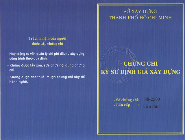 Chung chi hanh nghe ky su dinh gia xay dung